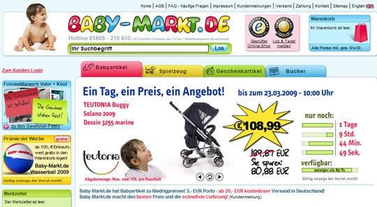 Baby-Markt.de: Teutonia Solano Buggy Angebot