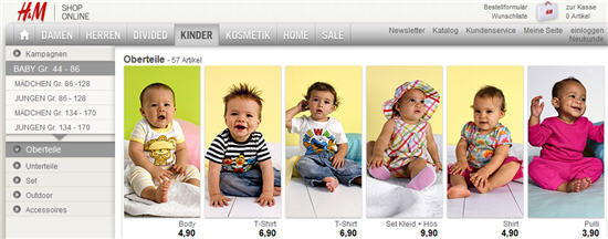 H&M: Babykleidung billiger mit Gutschein-Code