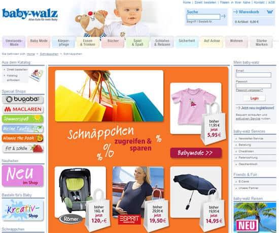 Baby Walz Gutscheincode Vorteilsnummer 2009