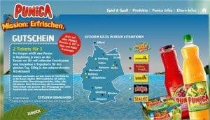 Punica Legoland Sealife Freizeitparks Gutschein Coupons