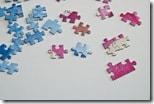 Puzzle-Teilchen im Detail - 1-3 Nasen