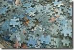 Puzzle-Teilchen im Detail - in der Tüte