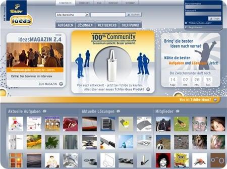 Tchibo Ideas Screenshot
