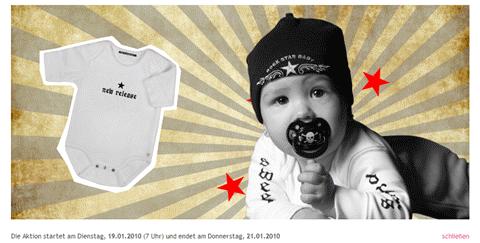 Rock Star Baby Sale bei Limango