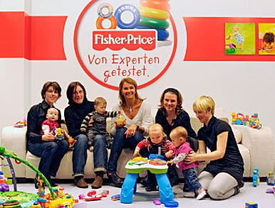 Produkttest Fisher-Price