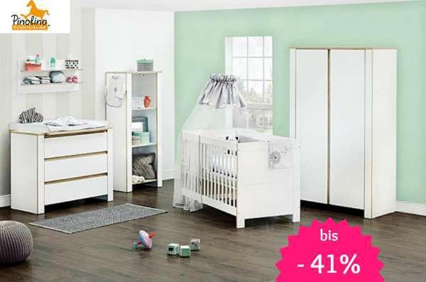 Kinderzimmermöbel set weiß  Pinolino Babybetten und Kinderzimmermöbel reduziert › Sparbaby.de ...