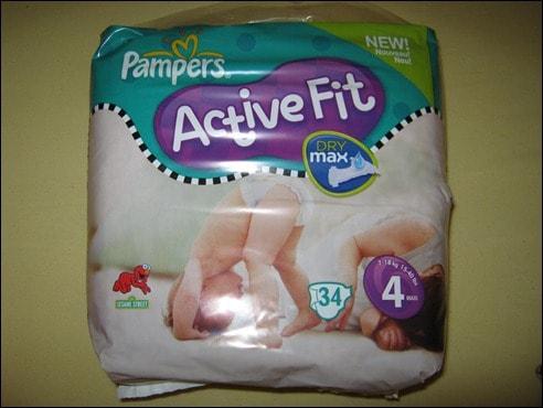Die neue Pampers Activ Fit DryMax
