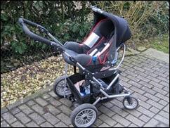 Emmaljunga zu Römer Babysafe Kinderwagen