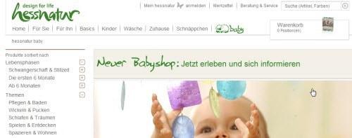 Hessnatur-Babyshop