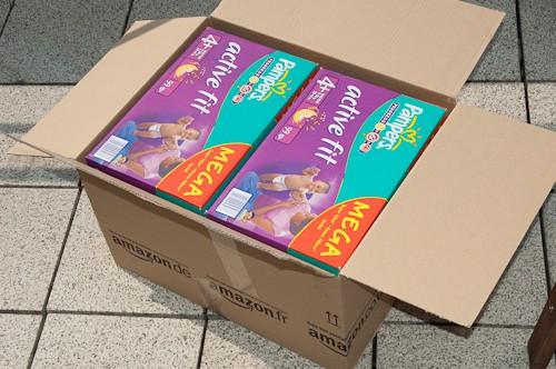 Pampers von Amazon