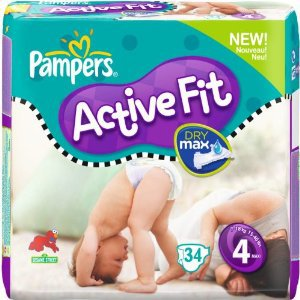 Pampers Active Fit Folienpackung