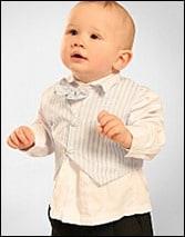 4-teiliges Set Anzug für Babys