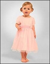 Festliches Kleidchen, Elin Baby Dress rose