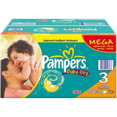 Pampers Angebote Megapack Baby Dry