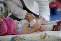 Pampers Forschungszentrum - Hautfeuchtigkeitstest