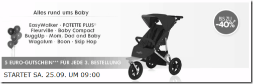 Babysale bei Brands4Friends