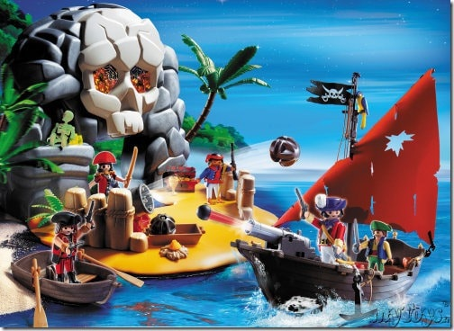 playmobil-schatzinsel Piraten 4443