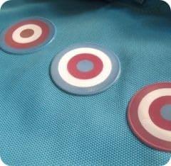 Reflektor-Sticker Circles