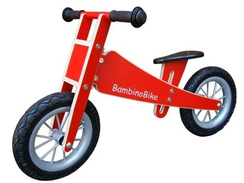 1. Preis: Bambino Bike Laufrad