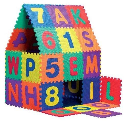 2.-5. großes Set Puzzlematten, 36 Teile