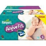 Gigapack Pampers Active Fit