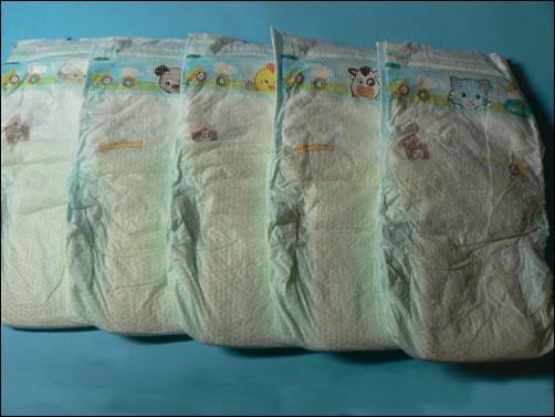 Motive der neuen Pampers Baby Dry