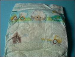 Süße Motive auf der neuen Pampers Baby Dry