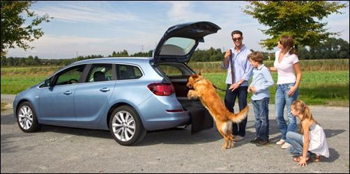 Familienauto Opel Astra Sports Tourer