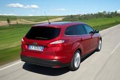 Ford Focus Turnier Heckansicht