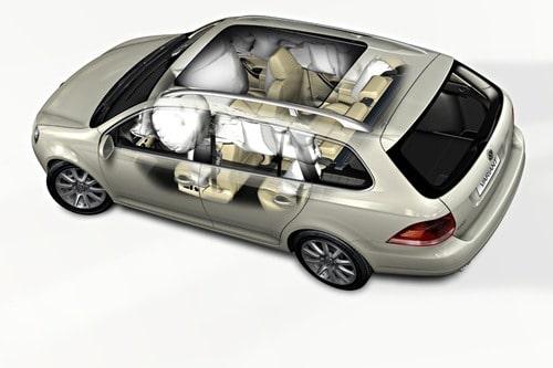 VW Golf Variant Airbagsystem
