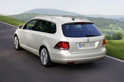 VW Golf Variant Heckansicht