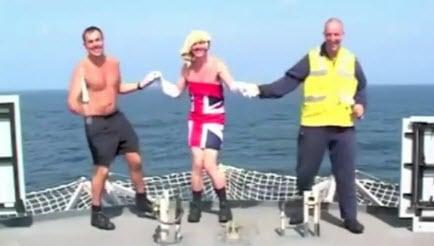 HMS Ocean Matrosen covern All I want for Christmas Cover von Mariah Carey