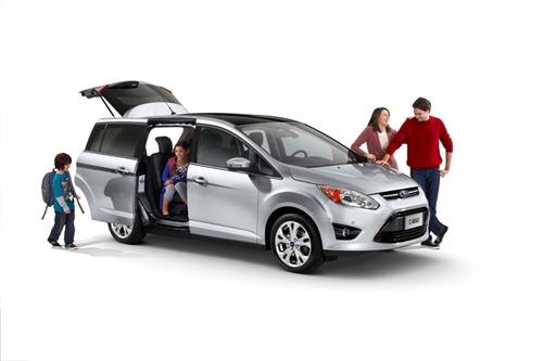 Familienauto Van Ford C Max mit Schiebetüren