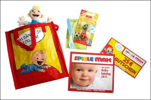 Babyclub-Spielemax-Willkommenspaket