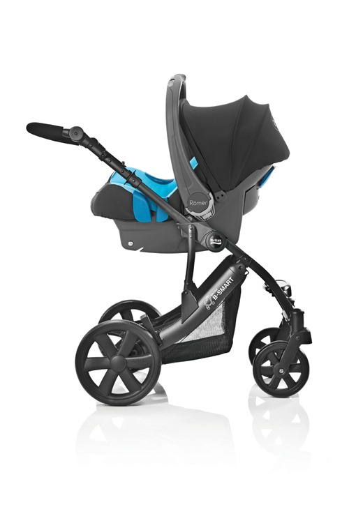 Britax B-SMART Kinderwagen mit BABY-SAFE plus SHR als Travel System