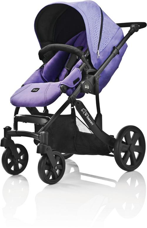 Britax B-SMART Purple Rain Design 2011