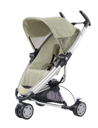 Quinny 72904950 - Zapp Xtra, praktisches Travelsystem inklusive Einkaufskorb, Sonnenverdeck, Regenverdeck und Adapter für die Babyschale, Natural Mavis