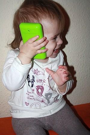 """""""Telefonieren"""" mit dem Smartfon von ministeps"""