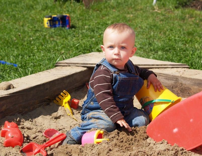 Sandkastensand schadstofffrei