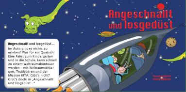 """Kinderbuch """"Angeschnallt und losgelöst"""" über Kindersicherheit"""