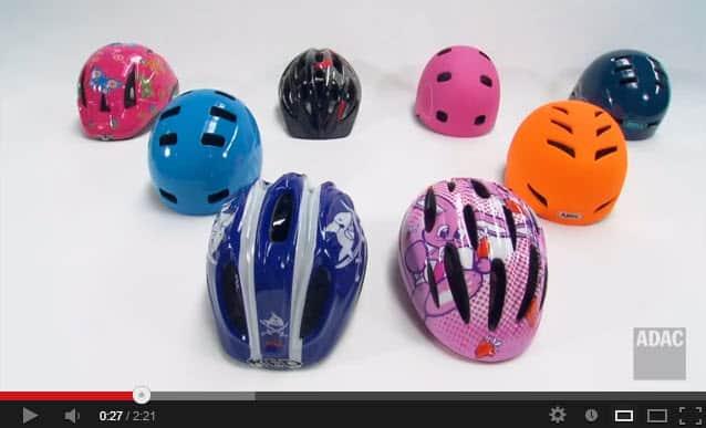 Fahrradhelme im Test des ADAC 2013 - Kinderhelme für Babys und Kleinkinder