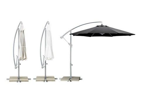 IKEA Sonnenschirm Karlsö mit gutem UV-Schutz