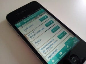 Pampers iphone App im Test