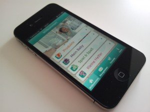 Die Pampers App für das iphone