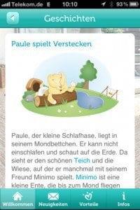pampers-app Schlafgeschichten Paul