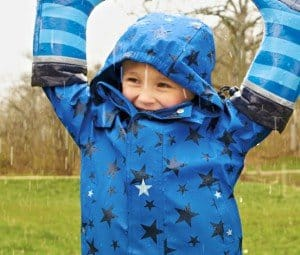 Jungen-Thermo-Regenjacke-Blau-mit-Sternenprint