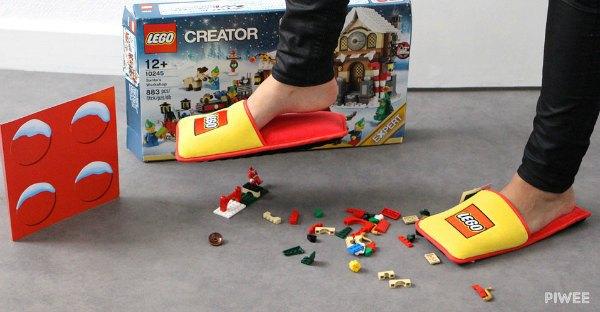 Lego Hausschuhe