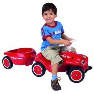 Bobby-Car mit Anhänger