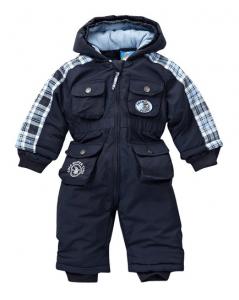 Baby-Skioverall-dunkel