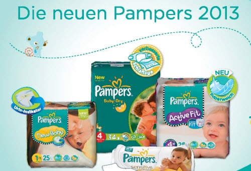 Neue Pampers 2013